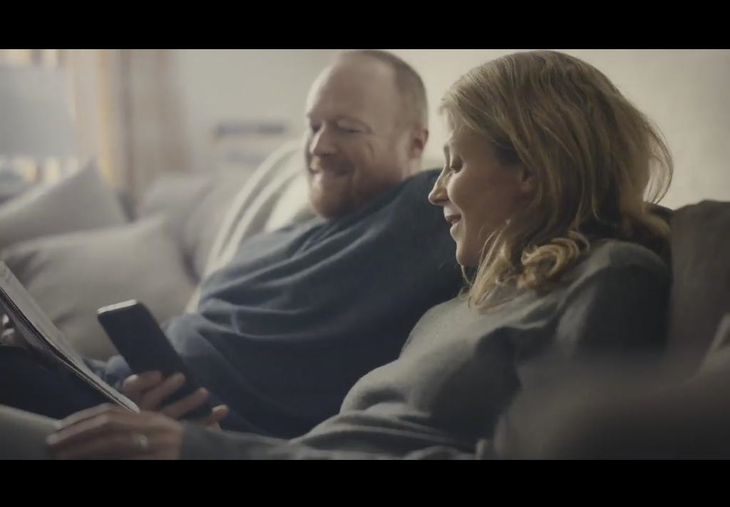 Rod Glenn in PayPal UK advert