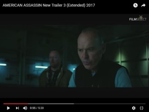 Rod Glenn and Michael Keaton in American Assassin